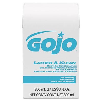 GOJO® Lather & Klean Body & Hair Shampoo