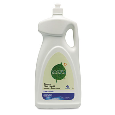 Seventh Generation® Free & Clear™ Natural Dishwashing Liquid