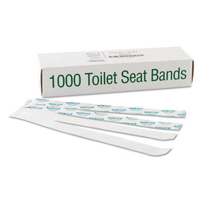 Bagcraft Papercon® Sani/Shield Toilet Seat Bands