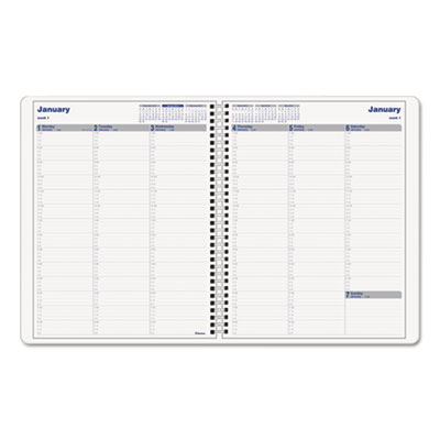 Blueline® Net Zero Carbon™ Weekly Planner
