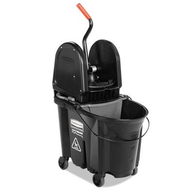 Rubbermaid® Commercial Executive WaveBrake™ Down-Press Mop Bucket