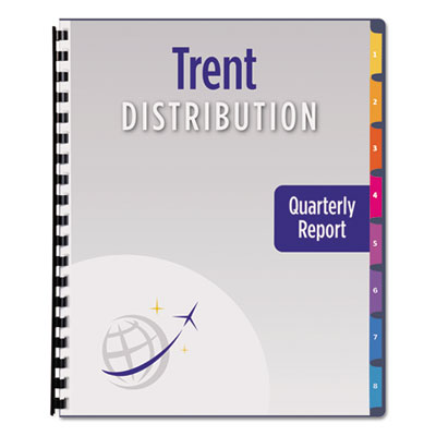 Avery® Ready Index® Customizable Table of Contents Unpunched Dividers with Narrow Tabs