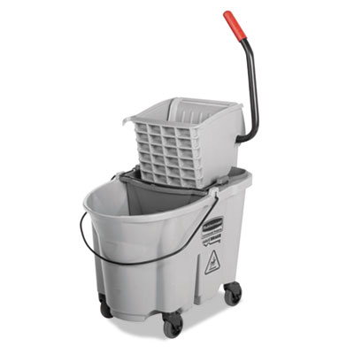 Rubbermaid® Commercial Executive WaveBrake™ Side-Press Mop Bucket