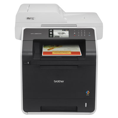 Brother® MFC-L8850CDW Color Laser All-in-One with Wireless Networking and Advanced Duplex