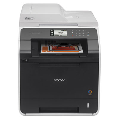 Brother® MFC-L8600CDW Color Laser All-in-One with Wireless Networking and Duplex Printing