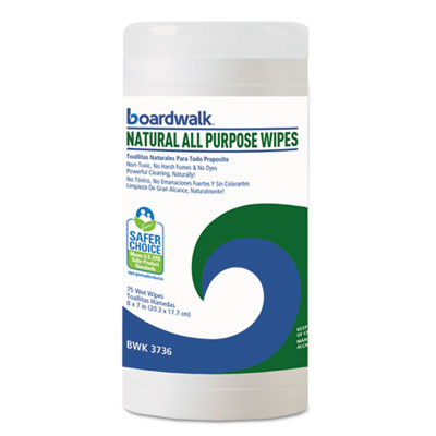 Boardwalk® Natural All Purpose Wipes