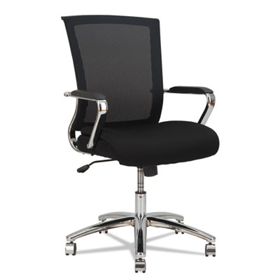 Alera® ENR Series Mid-Back Slim Profile Mesh Chair