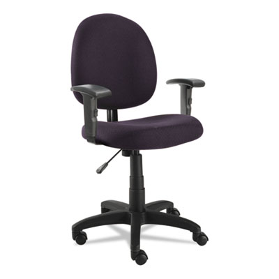 Alera® Essentia Series Swivel Task Chair with Adjustable Arms