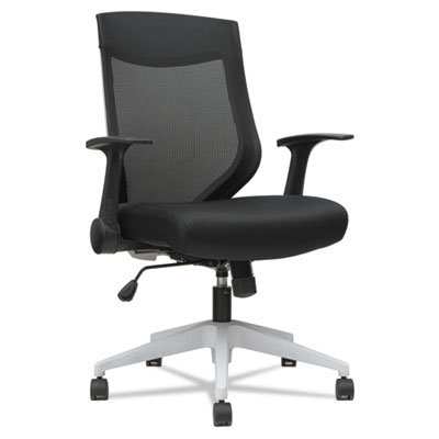 Alera® EB-K Series Synchro Mid-Back Mesh Chair