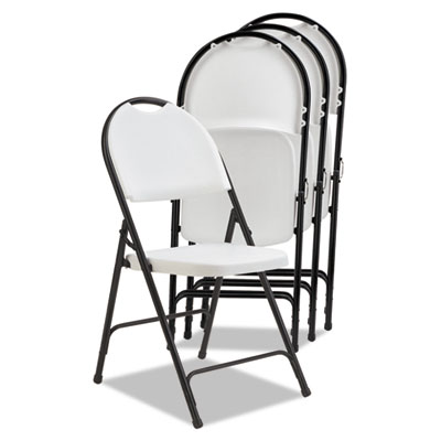 Alera® Molded Resin Folding Chair