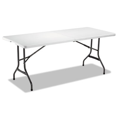 Alera® Fold-in-Half Resin Folding Table