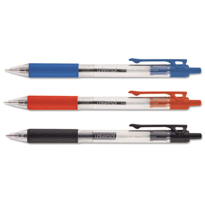 Universal® Economy Retractable Ballpoint Pen