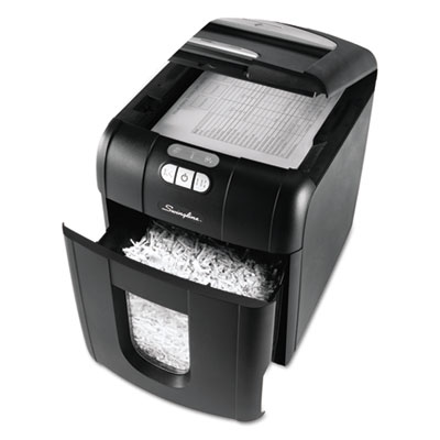 Swingline® Stack-and-Shred™ 100XL Super Cross-Cut Shredder Plus Pack