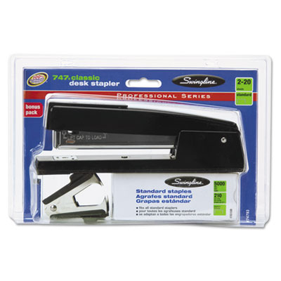 Swingline® 747® Classic Stapler Plus Pack