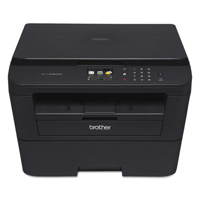 Brother® HL-L2380DW Versatile Laser Printer with Wireless Networking and Duplex Printing