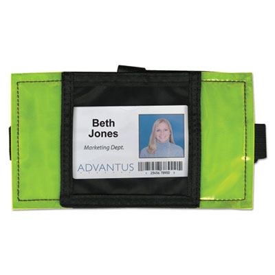 Advantus® Reflective Arm Badge Holder