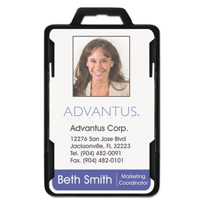 Advantus® Secure-Two Card RFID Blocking Badge