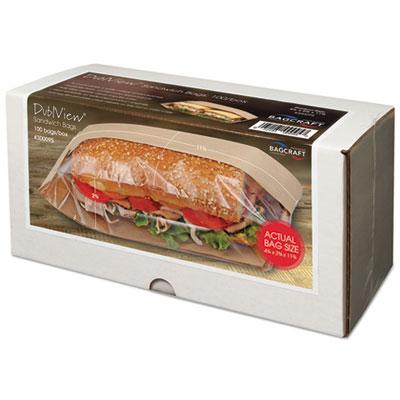 Bagcraft Papercon® Dubl View® Sandwich Bags