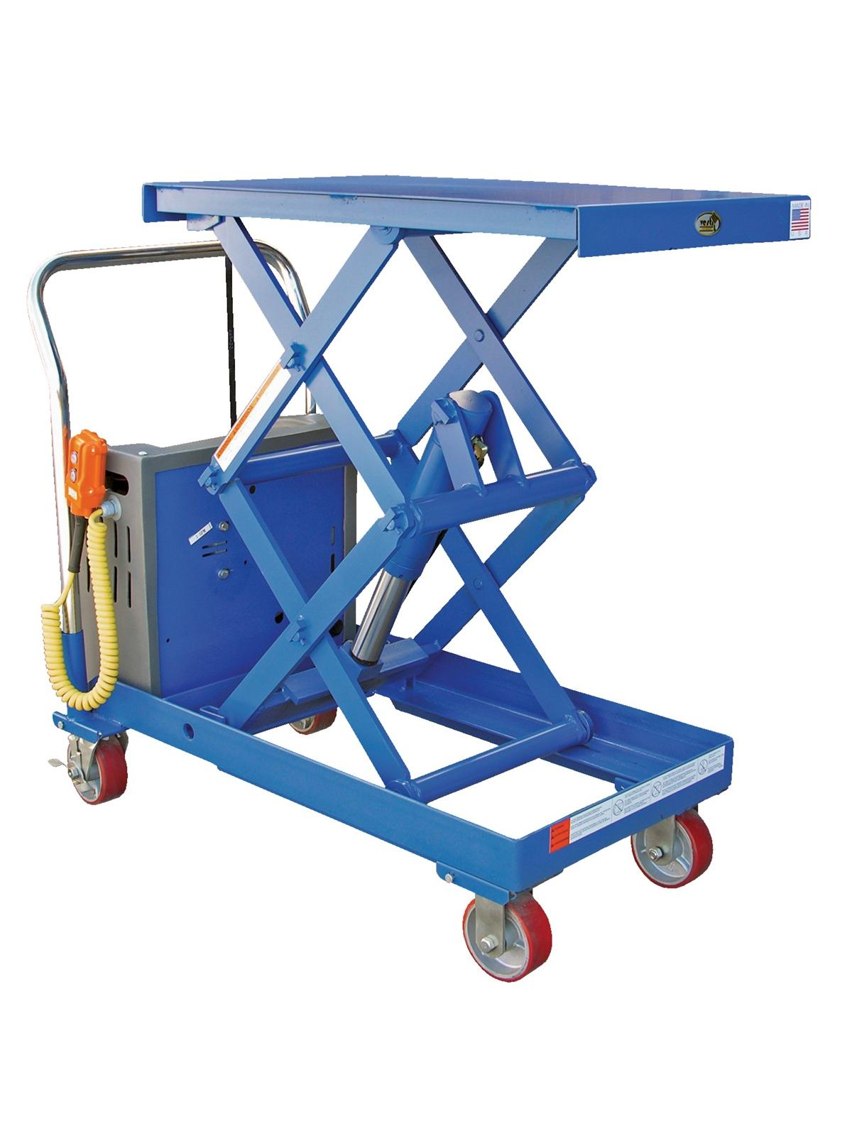 Battery Operated Double Scissor Cart At Nationwide