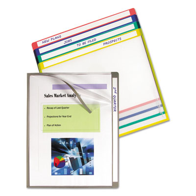 C-Line® Write-On Project Folders
