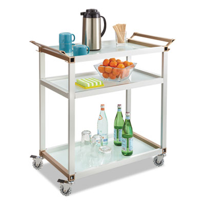 Safco® Large Refreshment Cart