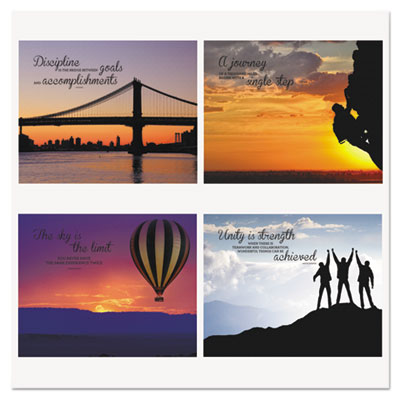 Advantus® Silhouette Canvas Motivational Print
