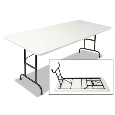Alera® Blow Molded Resin Top Folding Table