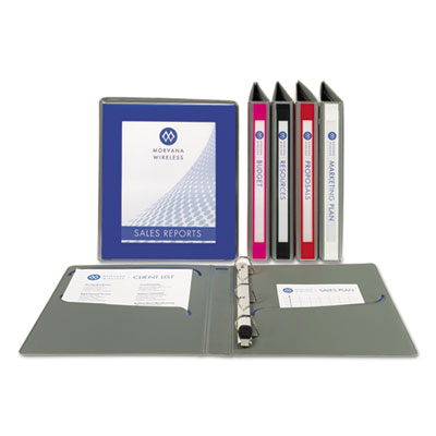 Avery® UltraLast™ Heavy-Duty View Binder with One Touch Slant Rings