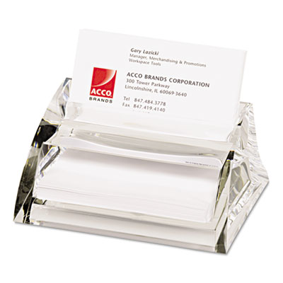Swingline® Stratus™ Acrylic Business Card Holder