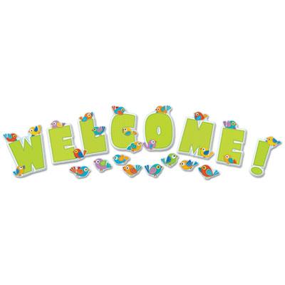 Carson-Dellosa Boho Birds Welcome Bulletin Board Set