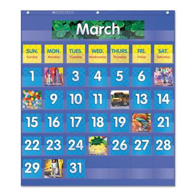 Scholastic® Monthly Calendar Pocket Chart