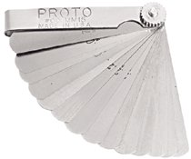Proto® 15 Blade Metric Feeler Gauge Sets
