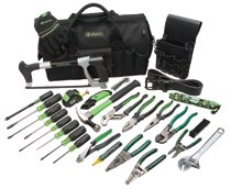 Greenlee® 28 Pc. Master Electrician's Tool Kits