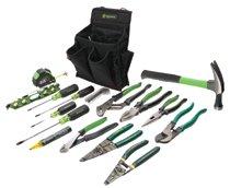 Greenlee® 17 Pc. Journeyman's Tool Kits