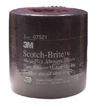 3M Abrasive Scotch-Brite™ Multi-Flex Sheet Rolls