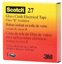 3M Electrical Scotch® Glass Cloth Electrical Tapes 27