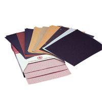 Carborundum Premier Red Aluminum Oxide Dri-Lube Paper Sheets