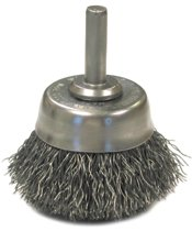 Anderson Brush Crimped Wire Cup Brushes-NH Series-Hollow End