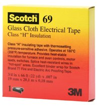 3M Electrical Scotch® Glass Cloth Electrical Tapes 69