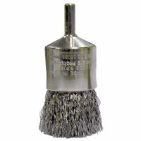 Weiler® Crimped Wire Solid End Brushes