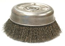 Anderson Brush Crimped Wire Cup Brush For Small Angle Grinders-UC & UCX Series