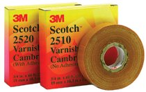 3M Electrical Scotch® Varnished Cambric Tapes 2510