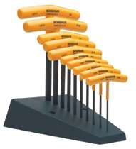 Bondhus® Standard T-Handle Hex Tool Sets