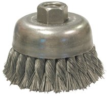 Anderson Brush Knot Wire Cup Brush-Double Row-UDX Series