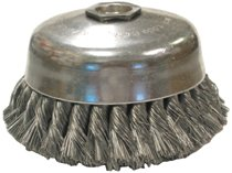 Anderson Brush Knot Wire Cup Brushes-Single Row-US Series