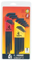 Bondhus® Balldriver® L-Wrench Combination Sets