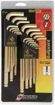 Bondhus® GoldGuard™ Balldriver® L-Wrench Combination Sets