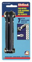 Eklind® Tool Metric Fold-Up Hex Key Sets