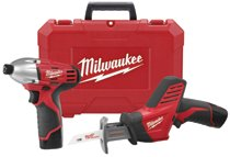Milwaukee® Electric Tools M12™ Cordless Combo Kits