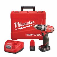 "Milwaukee® Electric Tools M12 FUEL™ 1/2"" Drill/Driver Kits"